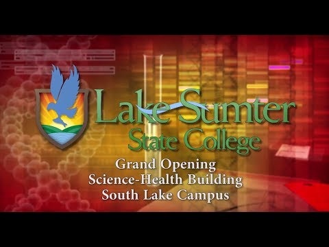 Science-Health Building Grand Opening in South Lake