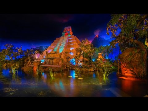 [HD] Gran Fiesta Tour starring the Three Caballeros: Epcot Mexico Boat Ride Disney World – Low Light