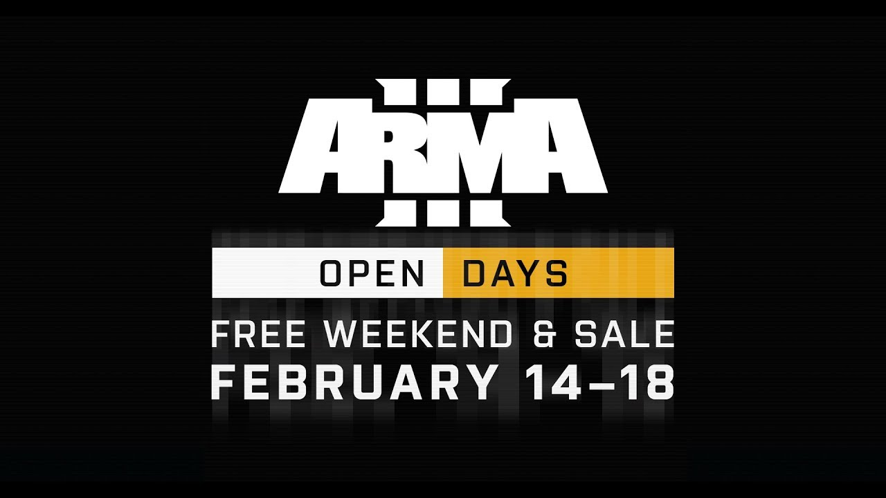 ARMA 3 STEAM FREE WEEKEND STARTS ON VALENTINE'S DAY | News