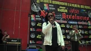 ROCK N ROLAS CON MARIACHI EN LA 31 ENTREGA DE PREMIOS BANDA ROCKERA