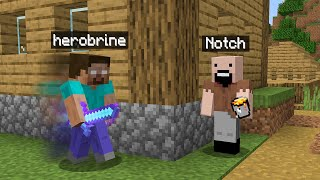 Don't be friends With Notch or Herobrine. Who is the better?