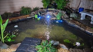 The BACKYARD POND Is DONE! Part 3