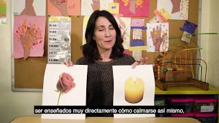 RESPIRAR PROFUNDO (ROSA Y VELA)
