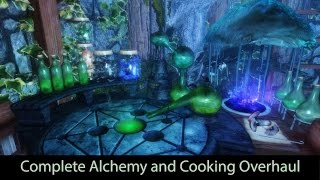 Complete Alchemy and Cooking Overhaul. Skyrim mod review 2016. [60FPS|1080p]