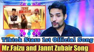 Tere Bin Kive   Team 07 - Music Video   Ramji Gulati   Jannat Zubair & Mr.Faisu   Reaction /Review!!