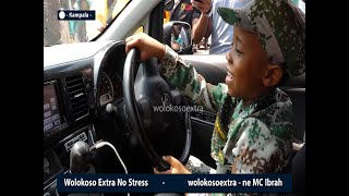 FRESH KID_Given new car by his new management_boasts around with happiness_MC IBRAH INTERVIEW