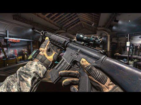 cod 現代戰爭2重製板 武器預覽