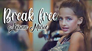 Ariana Grande - Break Free ft Zedd - (8 years old) ARIANN & 5DB