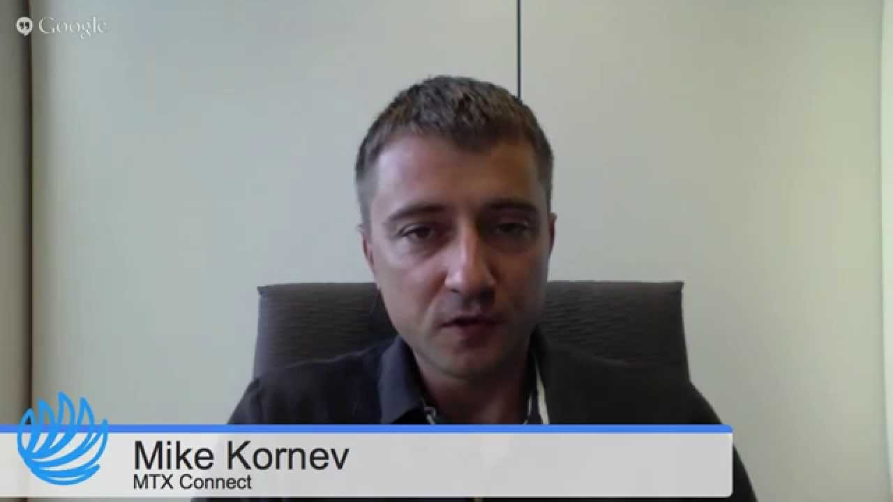 MTX Connect:  Co-Founder Mike Kornev * #WebToolsTV 1.33 #SocialCafe  by @SocialWebCafe
