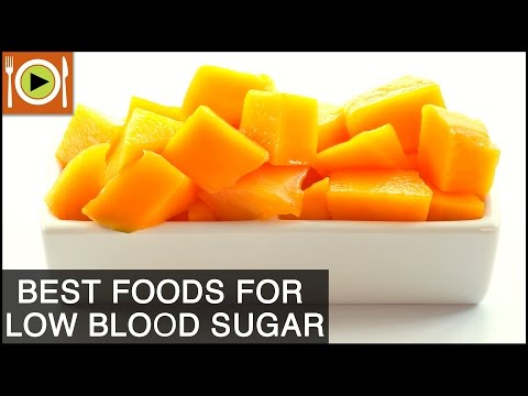 Video How to Treat Low Blood Sugar | Foods & Healthy Recipes
