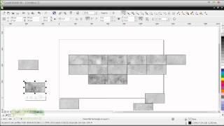 Использование CorelDRAW при создании сложной текстуры