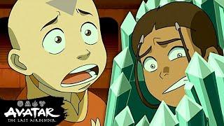 Aang Battles Bumi To Save Katara & Sokka! 💎| Avatar