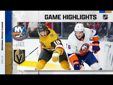 Vegas Golden Knights vs New York Islanders</a> 2021-10-25