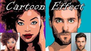 Photoshop: How To Transform A Photo Into A Pop Art, Cartoon Effect!