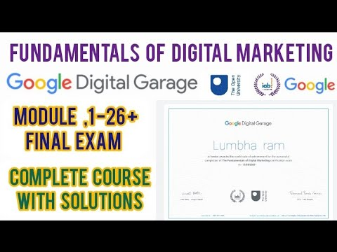 Google Digital Garage Final Exam Answers 2021   Google Digital ...