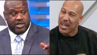 Lavar Ball Challenges Shaquille O