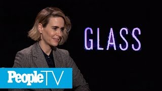 Sarah Paulson Dishes On Joining The World Of Comic-Books In 'Glass' | PeopleTV