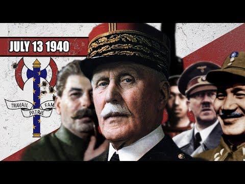 Diktátor Francie - Druhá světová válka