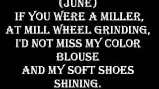Johnny Cash and June Carter- If I Were A Carpenter lyrics