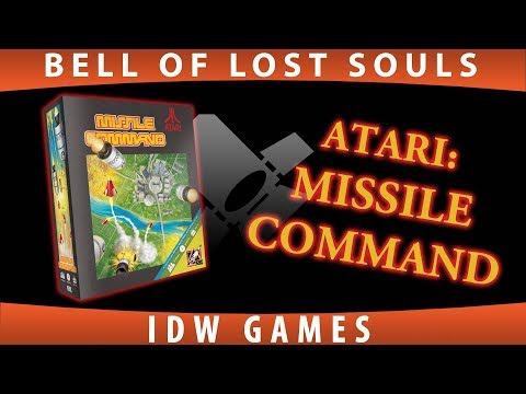 BoLS Unboxing | Atari's Missile Command | IDW Games