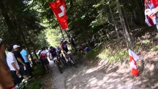 preview picture of video 'UEC European Youth Mountainbike Championships Graz/Stattegg XC X-Large 15.8.2013'