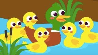 Beş Küçük Ördek   En Güzel Çocuk Şarkıları   1 Saat Kesintisiz