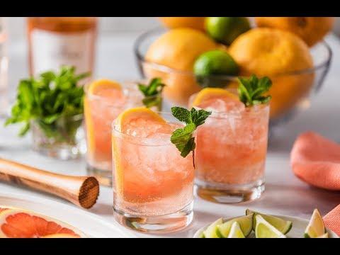 Rosé Mojito Cocktail Recipe