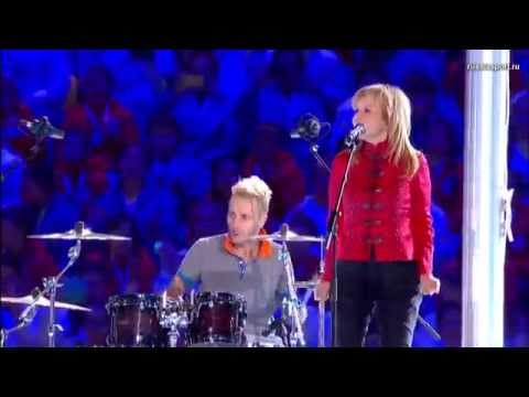 Ольга КОРМУХИНА | Алексей БЕЛОВ (Gorky Park) - MOSCOW CALLING | Закрытие Олимпиады в Сочи, 2014
