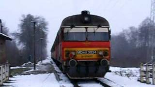 Open Rails 3D Cab test - Hungarian DMU MÁV MDmot - Самые