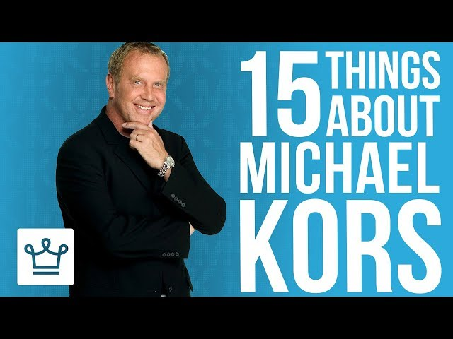 15 Things You Didn't Know About Michael Kors