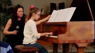 La Marche Turque de Mozart - Stella 9 ans - Concert à Grasse - Piano