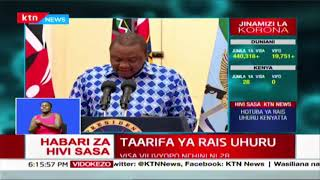 Ordinary calendar of cabinet and key state agencies reorganized | President Uhuru's address