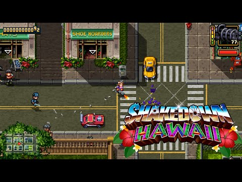 Shakedown: Hawaii   Extended Gameplay Overview Trailer  [Nintendo Switch, PS4, PSVITA, 3DS, PC] thumbnail