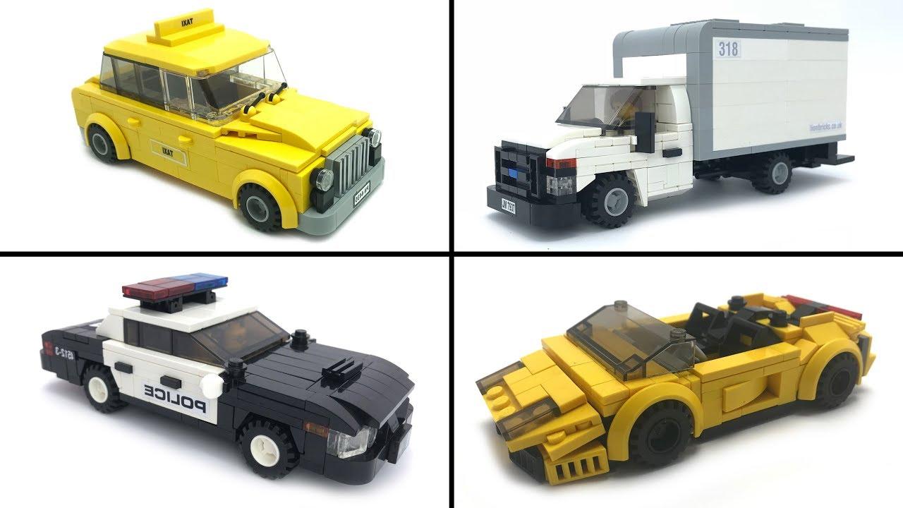 My Favourite Lego Vehicle MOCs