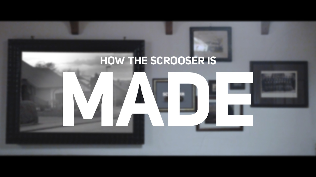Marketing campaign for the start-up SCROOSER