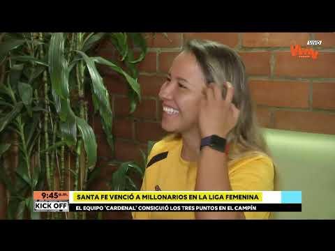 Liga Femenina | Marcarle a Millonarios fue una gran alegria: Natalia Torres