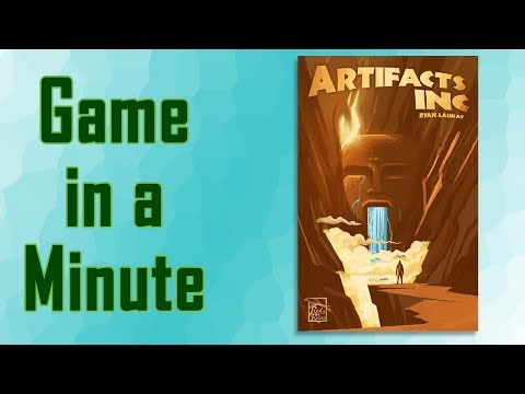 Game in a Minute Ep 85: Artifacts Inc.
