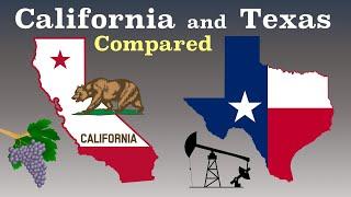 California And Texas Compared