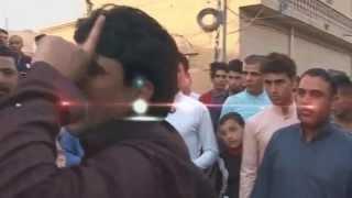 هوسات ازماط حيدرالمالكي ورعد معى اهل بغداد حرامي الشعر في حفل شقيق المصور احسين البهادلي