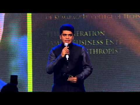 shankar vanavarayar - Jaguar & RITZ Excellence Awards