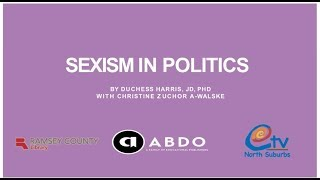 VIDEO: Sexism in Politics with Duchess Harris