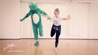 Samantha und der Frosch