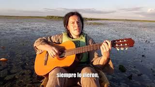 Abel Fleita, canta Río y estero Santa Lucía