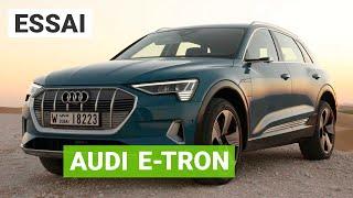 Essai Audi e-tron : un SUV électrique polyvalent