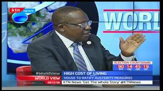 Felix Okatch-Multilateral Trade Expert explains Kenya's high cost of living is due to food shortage