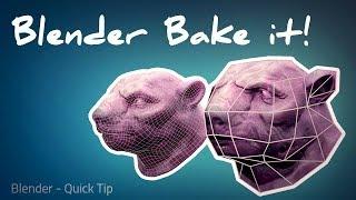 Blender Bake To Lowpoly