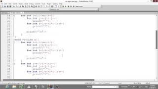 Vẽ các ngôi sao dạng tam giác - Lập trình căn bản C/C++