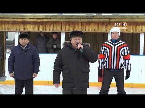 Открытие календарных игр I  тура 5-ой группы Первенства РБ по хоккею с шайбой