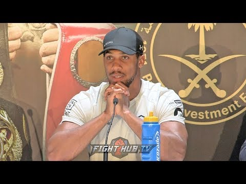 """ANTHONY JOSHUA REACTS TO OLEKSANDR USYK BEING NEXT FIGHT """"LETS ROCK N ROLL MATE!"""""""