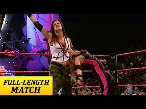 FULL-LENGTH MATCH - Raw - Trish Stratus vs. Lita - Women's Championship Match